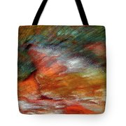 Sounds Of Thunder Abstract Tote Bag