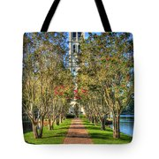 Sounds Of Victory The Bell Tower Furman University Greenville South Carolina Art Tote Bag