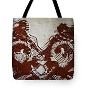 Sources  - Tile Tote Bag