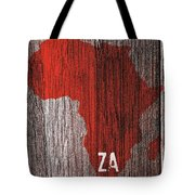 South Africa Red Tote Bag