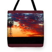 South African Sunrise Tote Bag