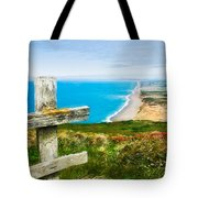 South Beach At Point Reyes Tote Bag