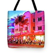 South Beach Neon Tote Bag