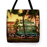 South Beach Ocean Drive Tote Bag