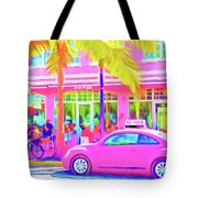 South Beach Pink Tote Bag