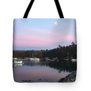 South Bristol Sunset Tote Bag