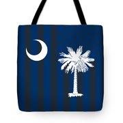 South Carolina State Flag Graphic Usa Styling Tote Bag