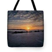 South Caroline Sunset Tote Bag by Tom Singleton