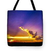 South Central Nebraska Sunset 008 Tote Bag