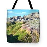 South Dakota's Badlands National Park Tote Bag
