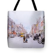 South Elm Street 1918 Tote Bag