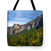 South End Of Half Dome Tote Bag