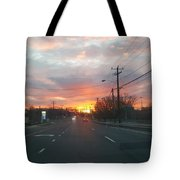 South End Sun Rise Tote Bag
