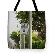 South  Florida 5 Tote Bag