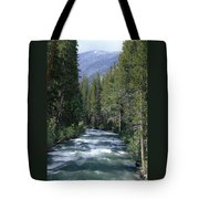 South Fork San Joaquin River - Kings Canyon National Park Tote Bag