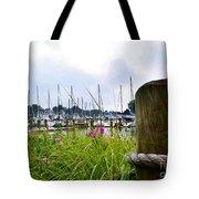 South Haven Marina Tote Bag