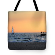 South Haven Sunset Tote Bag