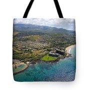 South Kihei Coastline Tote Bag