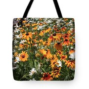 South Lake Tahoe Flowers Tote Bag