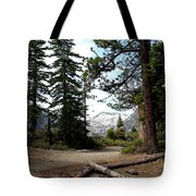 South Lake Tahoe Mountain Trail Tote Bag