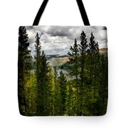 South Lake Through The Pines Tote Bag