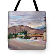 South On Route 395, Big Pine, California Tote Bag