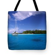 South Pacific Anchorage Tote Bag