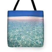 South Pacific Sandbar Tote Bag