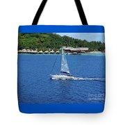 South Sea Sail Tote Bag