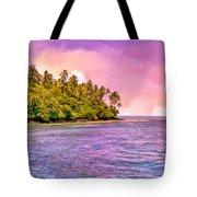 South Seas Sunset Tote Bag