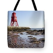 South Shields Groyne Tote Bag