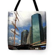 South Street Seaport - New York City Tote Bag