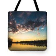 Southampton Sunset Tote Bag