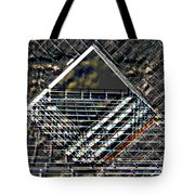 Southbank London Abstract Tote Bag