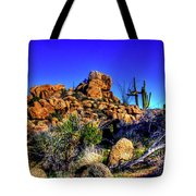 Southbound On Us 93 Tote Bag