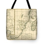 Southern Africa Tote Bag