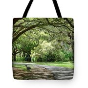Southern Bench Tote Bag