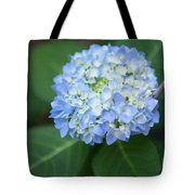 Southern Blue Hydrangea Blooming Tote Bag