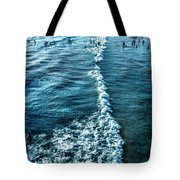 Southern California Beach Tote Bag