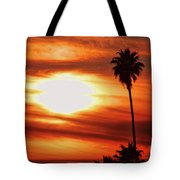 Southern California Sunset Tote Bag