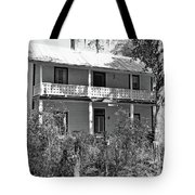 Southern Charm Black And White Tote Bag