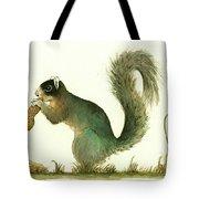 Southern Fox Squirrel Peanut Tote Bag