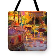 Southern French Port Tote Bag