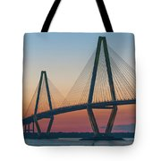 Southern Glow Over The Cooper Tote Bag