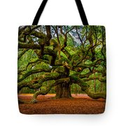 Angel Oak In Charleston Tote Bag