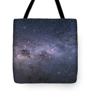 Southern Milky Way From Vela Tote Bag