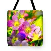 Southern Missouri Wildflowers 1 - Digital Paint 1 Tote Bag