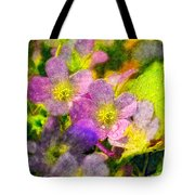 Southern Missouri Wildflowers 1 - Digital Paint 2 Tote Bag