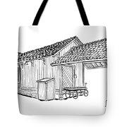 Southern Pacific Depot, Skull Valley, Az Tote Bag