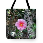 Southern Pink Camellia Tote Bag